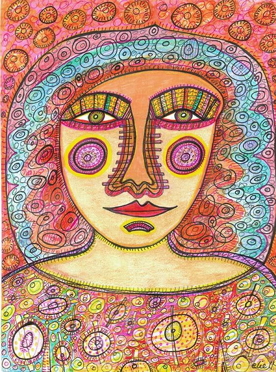 Cheerful Goddess